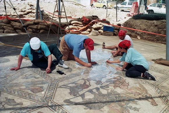 Image: Documenting the mosaic